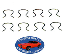 GM Chevelle Camaro Impala GTO 442 Door Handle Window Crank Retaining Clips 8p LQ