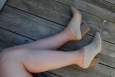 Brash -  Cute and Sexy - Beige - Block Heel Mule - Size 13 Medium