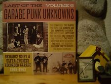 LAST OF THE GARAGE PUNK UNKNOWNS Vol. 6 LP/'60s Garage Rock/Back From The Grave