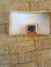 men size 8 gold Amethyst ring