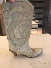 Just Cavalli cowboy boots size 38 $995