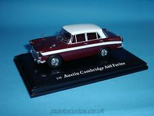 Cararama 1:43 - Austin Cambridge A60 Farina - Grey / Dark Red