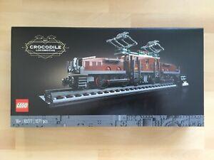 LEGO - Creator - 10277 - Lokomotive - Crocodile - Krokodil - NEU & OVP