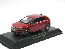Norev 473815 - 2017 Peugeot 308 GT - Ultimate Red - 1/43