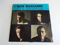 The 4 Seasons C'Mon Marianne 45 Philips Picture Sleeve Vinyl Record