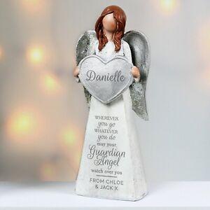 Personalised Memorial Guardian Angel Ornament Remembrance In Loving Memory Gift