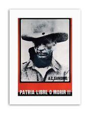 SANDINISTA FREE NICARAGUA DEATH SANDINO Picture Canvas art Prints