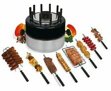 Grillex Indoor/Outdoor Brazilian Portable BBQ Grill Set With Grilling Kit