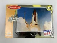 Melissa and Doug 200 Piece Space Shuttle Puzzle. New and Sealed!
