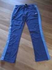 LADIES CUTE BLUE COTTON TRACKSUIT / CASUAL PANTS BY SLAZENGER - SIZE 10 CHEAP