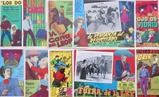 WESTERN LOBBY CARD PHOTO COLLECTION 1960s 1970s NEAR MINT VINTAGE MEXICAN