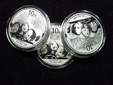 2013 China Silver Panda 10 Yuan ORIGINAL CAP
