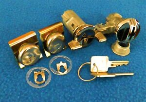 GM Truck 1979-80 1981-87 Door Locks Ignition Lock Glove Box Lock Set Keyed Alike