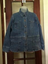 Women's Stretch Jones Sport Jean Jacket Size XXL