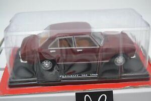 "Die Cast "" Peugeot 504 - 1969 "" Scale 1/24"