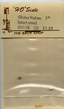 Original PFM/The Back Shop GV-18 Globe Valves (short stem) (2) - NOS