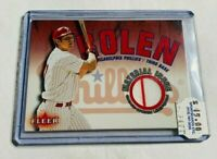 R1017 - SCOTT ROLEN - 2001 FLEER - MATERIAL ISSUE JERSEY - PHILLIES -