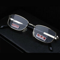 Reading Glasses +4.5 5.0 5.5 6.0 High Strength Optical Lens Metal Frame Eyewear