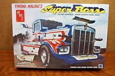 AMT TYRONE MALONE'S KENWORTH SUPER BOSS DRAG TRUCK 1/25 SCALE MODEL KIT
