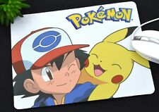 New Anime Pokemon Mouse Pad, Hollow Slim Square Mat Mousepad For PC