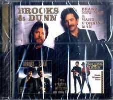 BROOKS & DUNN Brand New Man & Hard Working Man CD NEW Sigillato
