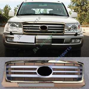 For Toyota Land Cruiser LC100 FZJ100 2006-07 Gold Gray Front Bumper Grille