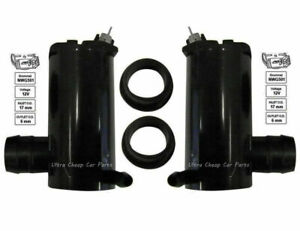 Windscreen Washer Pump Ford Territory SY SZ 11/05 to 2013 Front + Rear New Pair