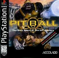 Pitball Playstation 1 Game PS1 Used