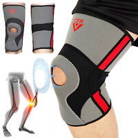 Knee Support Brace Compression Sleeve Sports Pad For Arthritis Pain/Running/Gym