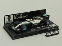 Minichamps 1:43 Mercedes AMG Petronas F1 Lewis Hamilton Winner Brazilian GP 2016