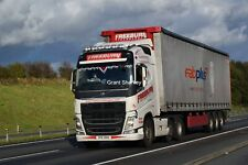 Truck Photos Irish Freeburn Transport Volvo FH & Tautliner CFZ 252