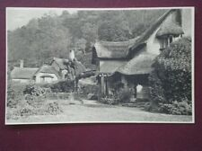 POSTCARD SOMERSET SELWORTHY COTTAGE