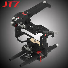 JTZ DP30 Camera Cage Top Handle Grip Baseplate For Sony Alpha A6000 A6300 A6500