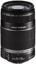 EF-S 55-250mm f/4-5.6 is Image Stabilizer Zoom Lens Canon from Japan