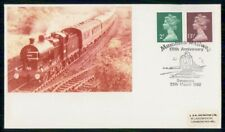 Mayfairstamps Great Britain 1982 Train Mubles Rr Queen Bust Cover wwh_70629