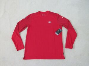 Nike Authentic NFL SAN FRANCISCO 49ERS On Field L/S THERMA Shirt Men XL New Nice