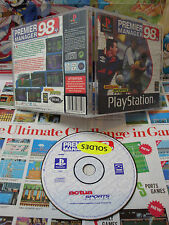 Playstation PS1:Premier Manager 98 [TOP SPORT & 1ERE EDITION] COMPLET - Fr