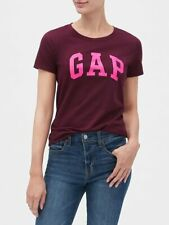 Bnew GAP Womens Logo T-Shirt, secret plum purple, XSmall only