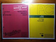Heavy Equipment Manuals & Books for John Deere Mower for sale | eBay