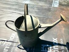 VINTAGE GALVANISED 2 GALLON WATERING CAN WITH ROSE