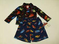 Disney Pixar Cars Boys Size 4 Black Pajama Top & Size XS Blue Pajama Shorts New