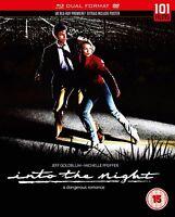 INTO THE NIGHT di John Landis con Michelle Pfeiffer BLURAY+DVD in Inglese NEW.cp