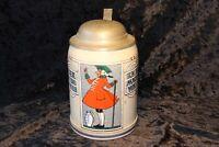 Krug, Bierkrug, Seidel, Maßkrug, Vorkriegszeit Zinn Deckel 0,5 L Antik