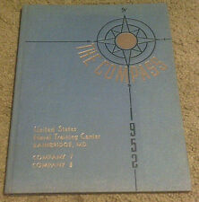 1952 The Compass U.S. Naval Training Center Bainbridge M.D. Year Book