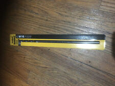 DEWALT DW1610 3/8-Inch by 12-Inch Extra Long Black Oxide Drill Bit New Sealed