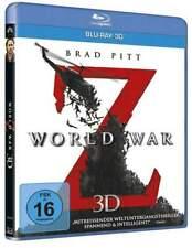"""WORLD WAR Z"" - Zombie Horror Action - Brad Pitt - 3D BLU RAY - neu/OVP"