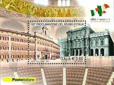 Italia  Foglietto  150° Proclamazione del Regno d'Italia