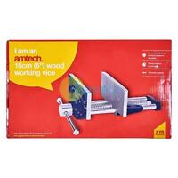 Amtech 6'' Wood Working Vice Wood Working General Clamping