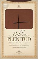 Biblia Plenitud / Spirit-Filled Bible : Reina Valera 1960, terracota, estudio...