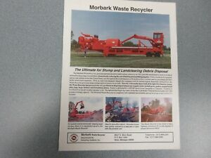 Morbark Waste Recycler Sales Sheet
